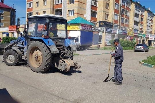 Ямочный ремонт автомобильной дороги «ул. Свободы»