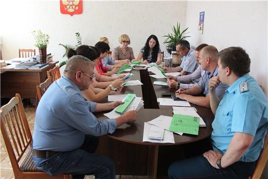 В администрации города Канаш состоялось заседание рабочей группы по проведению профилактической акции «Безопасность детства»