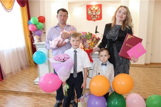 Головина Мирослава Сергеевна – 300 новорожденная г.Канаш!