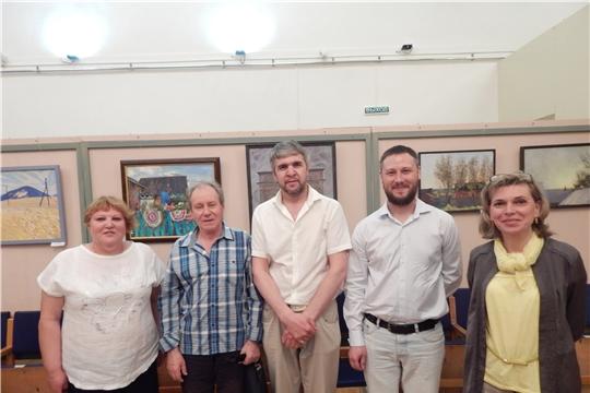 В Канашском краеведческом музее открылась выставка картин молодых художников Чувашии