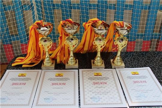 На спортивных площадках города Канаш разыграны медали весеннего этапа Спартакиады работников органов местного самоуправления