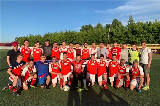 ФК «Локомотив» удерживает лидерство в первенстве Федерации футбола Чувашской Республики среди команд первого дивизиона