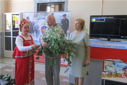 Литературно–историческое путешествие «Я живу в России» прошло на железнодорожном вокзале Канаша