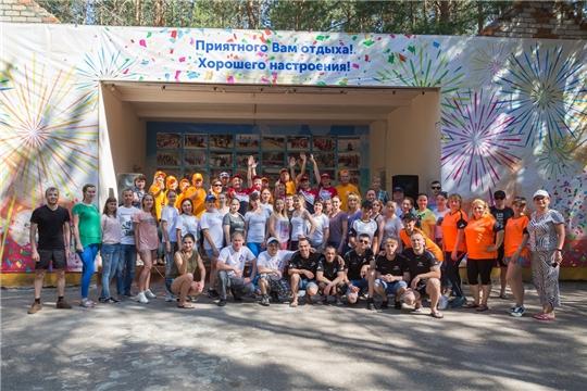 Совет молодежи АО «Промтрактор-Вагон» стал участником слета среди ведущих предприятий Чувашской Республики