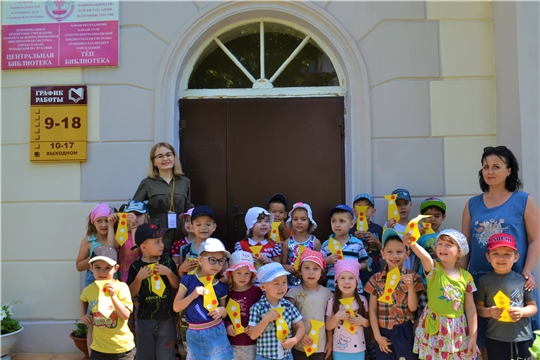 В Центральной библиотеке для дошкольников состоялся час семейного чтения «Папина сказка»