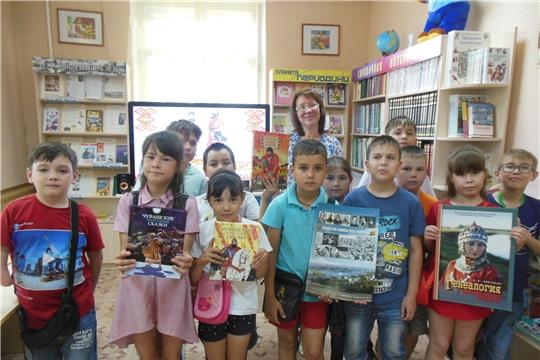 В преддверии Дня Республики в библиотеках г. Канаша прошли тематические мероприятия