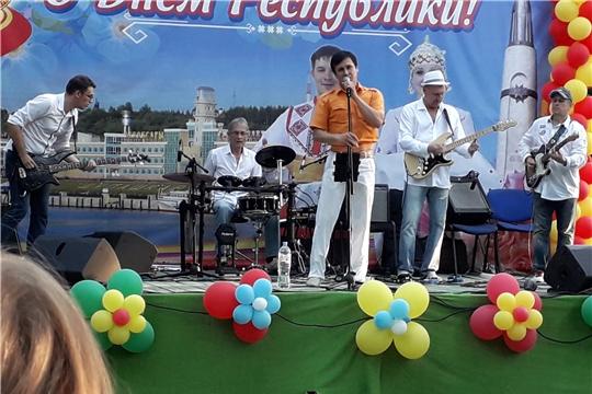 Концерт кавер-группы «Речкин-Бэнд» - подарок жителям Канаша ко Дню Республики