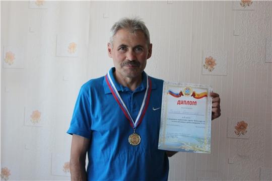 Александр Марков - победитель открытого первенства г. Чебоксары по легкой атлетике среди ветеранов