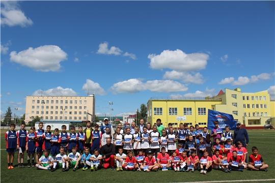 Всероссийский фестиваль детского дворового футбола