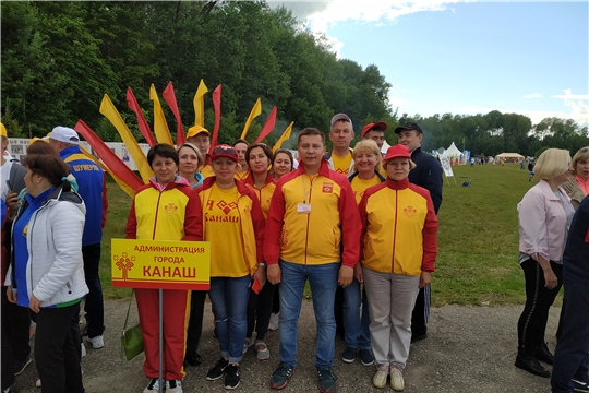 Команда администрации города Канаш приняла участие на XII Дне главы и муниципального служащего муниципального образования Чувашской Республики
