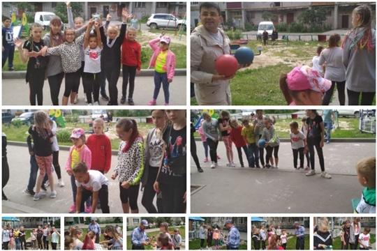 Методисты и педагоги Дома детского творчества провели игровую программу для ребят микрорайона «Северный»
