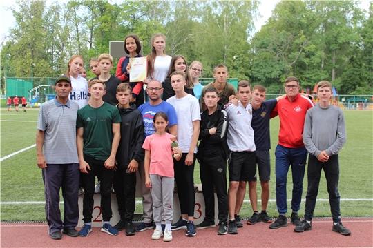 Город Канаш подтверждает звание победителя Спартакиады дворовых команд Чувашской Республики