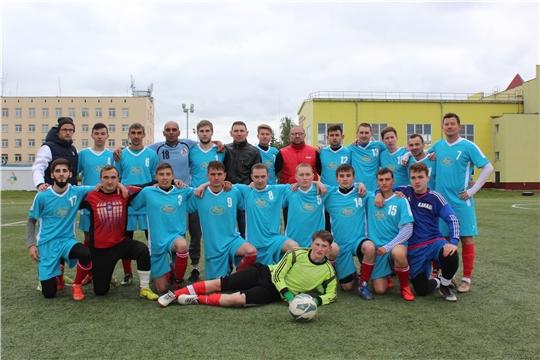 ФК «Локомотив» возглавил турнирную таблицу первенства федерации футбола Чувашской Республики среди команд I дивизиона