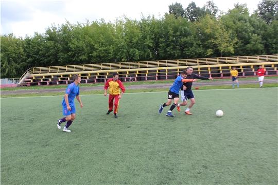 Город Канаш стал центром проведения турнира по мини-футболу в зачет ХVIII физкультурно-спортивной спартакиады работников органов местного самоуправления