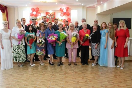 Во Дворце бракосочетаний г.Канаш прошел праздник «Семья – любви великой царство, семья – опора государства»
