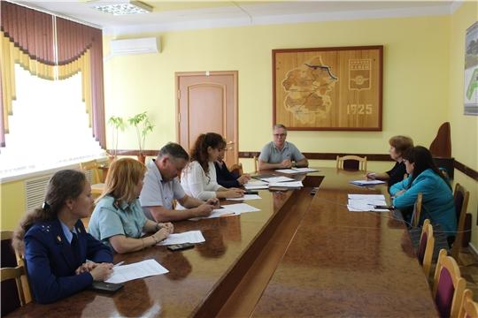 В администрации города состоялось очередное заседание Межведомственной комиссии