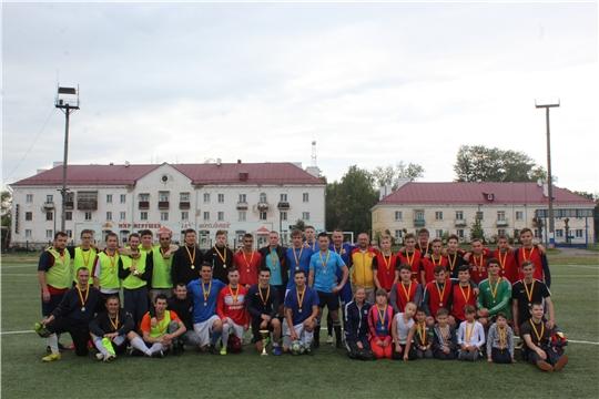 Турнир по миди-футболу стал украшением празднования Дня физкультурника в Канаше