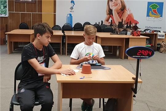 Успешное выступление канашского спидкубера на официальных соревнованиях в г. Набережные Челны