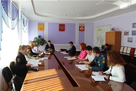 Глава администрации города Канаш Виталий Михайлов провел заседание антитеррористической комиссии