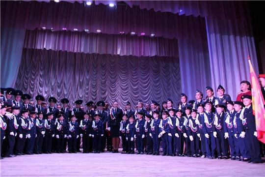 День знаний для кадетов Лицея государственной службы и управления