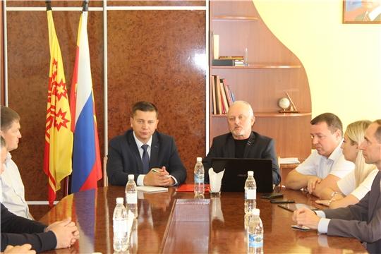 Президент Торгово-промышленной палаты Чувашии Игорь Кустарин встретился с представителями малого и среднего бизнеса города Канаш