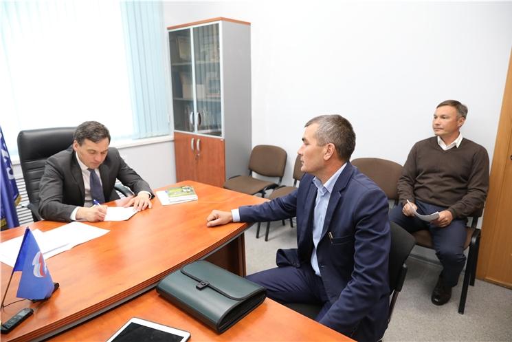 Председатель Правительства Чувашской Республики Иван Моторин провёл приём граждан по личным вопросам.