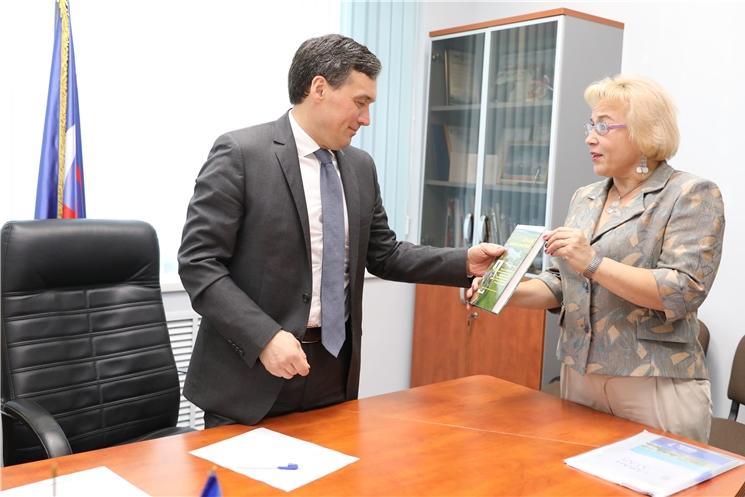 Председатель Кабинета Министров Чувашии Иван Моторин провел прием граждан