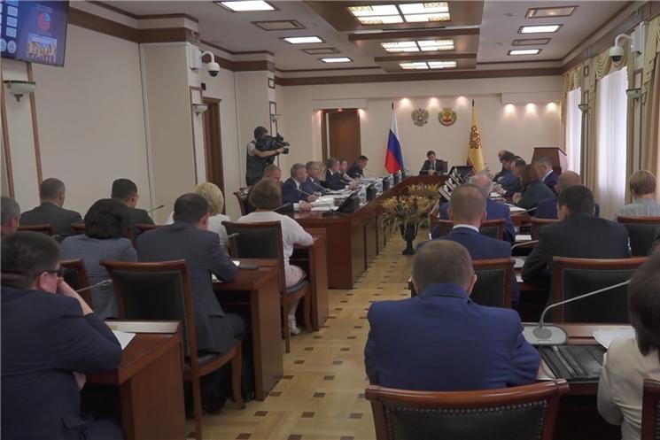 Члены Правительства Чувашской Республики рассмотрели ряд законопроектов.