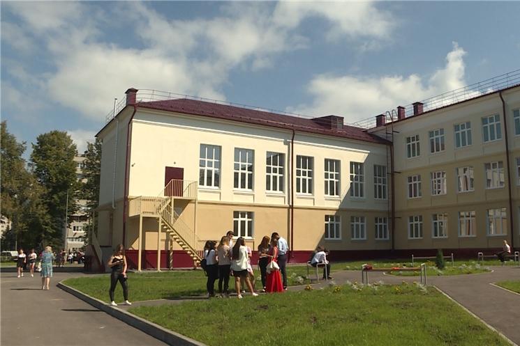 В Чебоксарах открылся новый учебный корпус средней общеобразовательной школы №61.