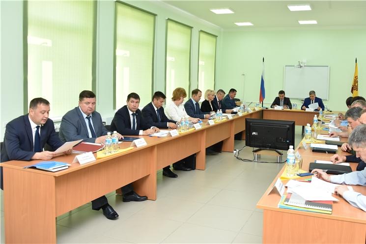 Состоялось совместное заседание антитеррористической комиссии в Чувашской Республике и оперативного штаба в Чувашской Республике