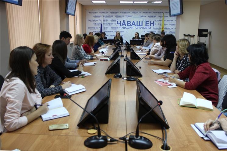 Работники кадровых служб органов исполнительной власти Чувашской Республики проходят служебную стажировку в Администрации Главы Чувашской Республики