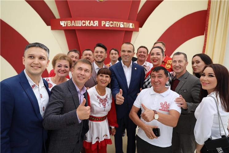 Встреча Главы Чувашии Михаила Игнатьева с артистами чувашской эстрады