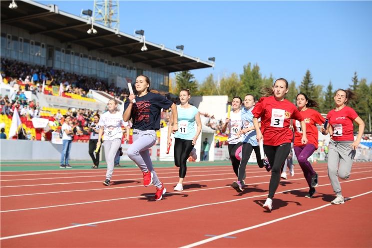 В Фестивале спорта и прессы Чувашии приняли участие 186 команд
