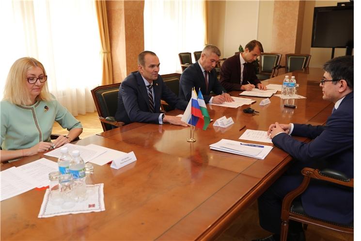 За январь-июнь 2019 года внешнеторговый оборот между Чувашской Республикой и Узбекистаном увеличился на 65%