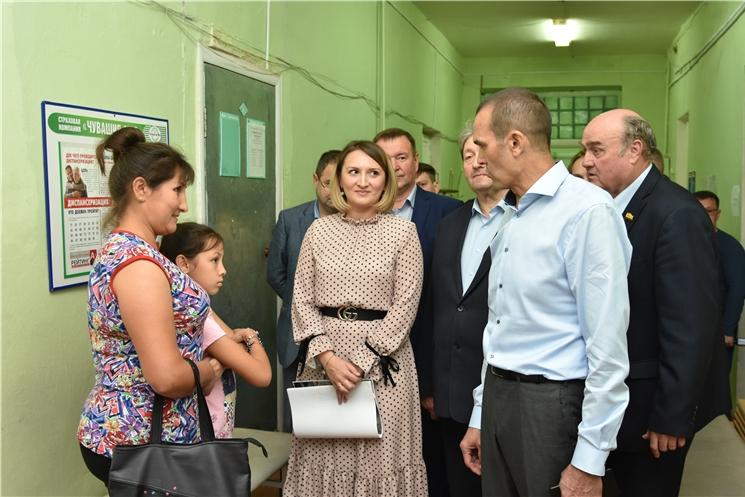 В рамках нацпроекта «Здравоохранение» ведется капремонт детской поликлиники Алатырской районной больницы