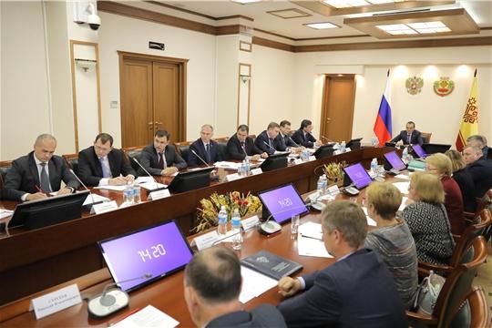 Заседание Координационного совета по защите прав потребителей при Главе Чувашской Республики