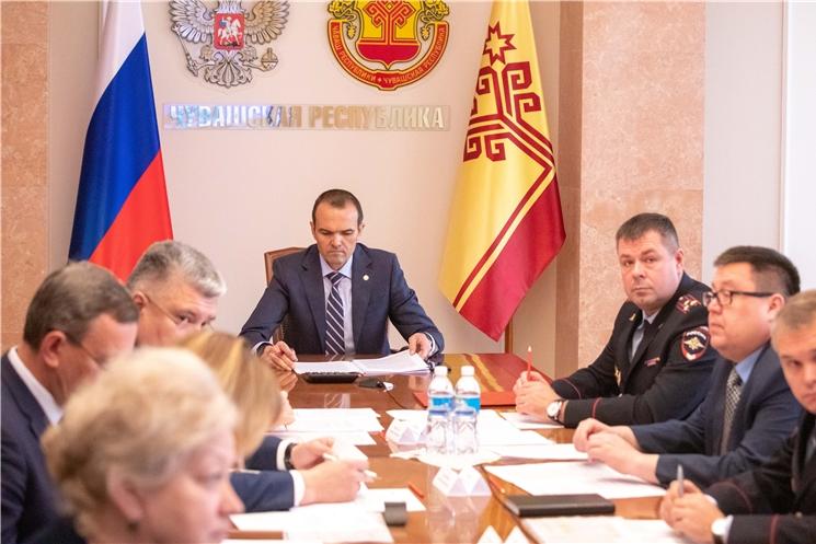 Глава Чувашской Республики Михаил Игнатьев принял участие в заседании Государственного антинаркотического комитета