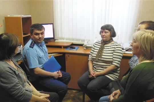 В консультационном пункте «Ассоциации юристов России» состоялся правовой час