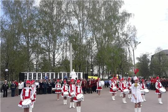В Шумерле проходит Республиканский смотр-конкурс кадетских и военно-патриотических формирований «Салют Победы»