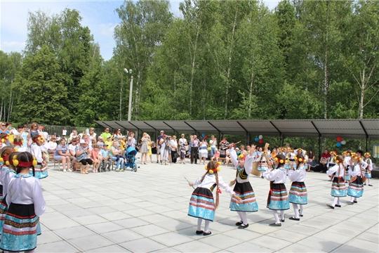 Праздничная концертная программа ознаменовала День России в Шумерле
