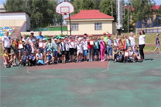 В Шумерле прошла Спартакиада пришкольных лагерей