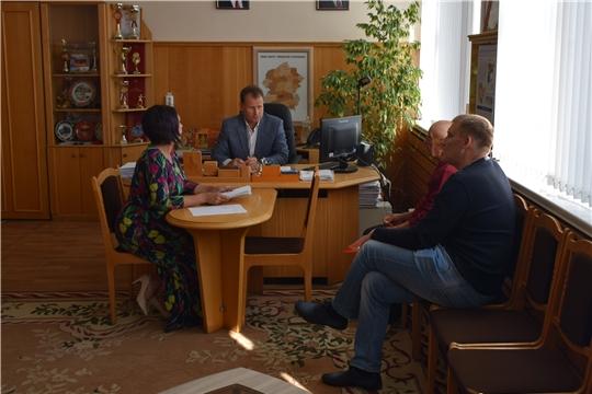 Глава администрации города Шумерля А.Д.Григорьев провел прием граждан по личным вопросам