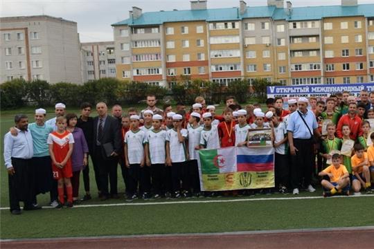 В Шумерле завершился Международный открытый турнир по футболу среди детских команд