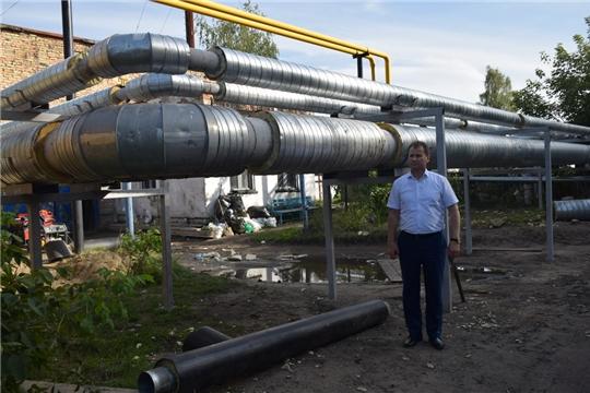 На ежедневном контроле главы администрации города Шумерля Алексея Григорьева находится строительный вопрос