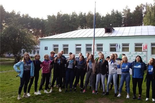 В детском лагере «Соснячок» города Шумерля состоялось торжественное закрытие последней смены 2019 года