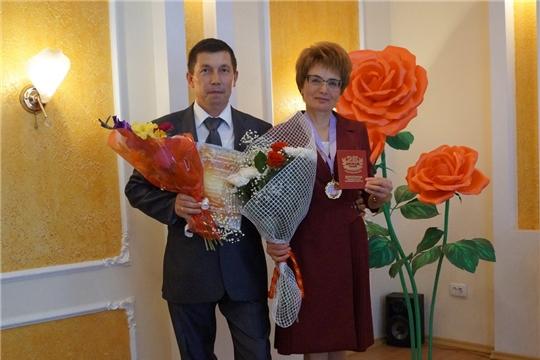 Торжественная церемония серебряного юбилея совместной жизни супругов Ванеевых