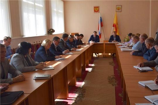 Совещание по подготовке города Шумерля к отопительному сезону 2019 – 2020 годов