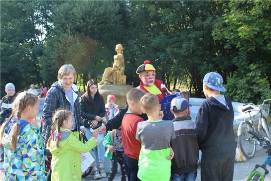 Игровая развлекательная программа для детей в городском парке
