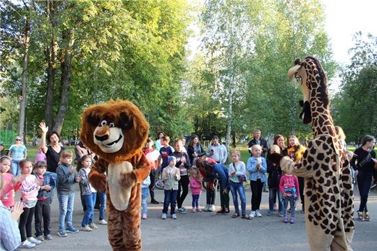 Игровая развлекательная программа «Здравствуй школа» в парке культуры и отдыха