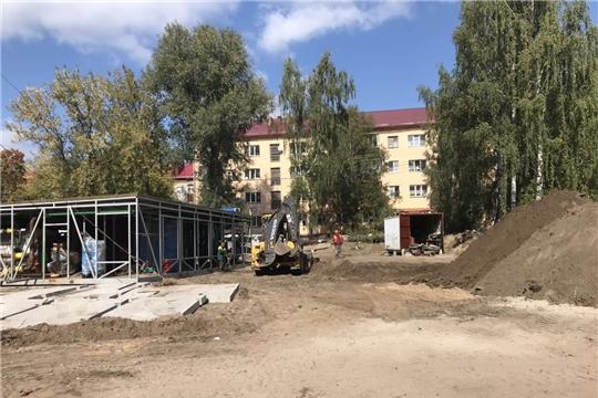 Строительство блочно-модульных котельных в г. Шумерля